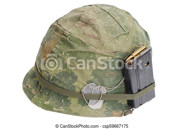 Us Army Helmet Vietnam War Period 1964 1974