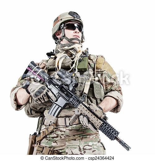 US army ranger  - csp24364424