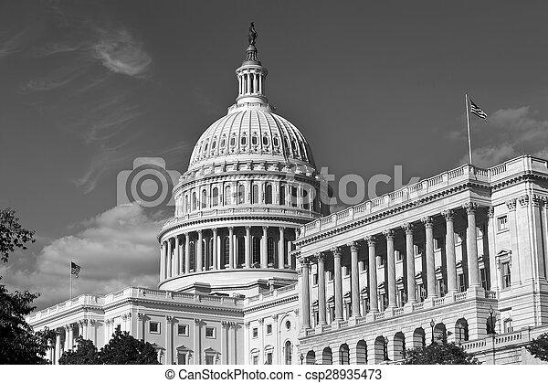 US Capital Building. - csp28935473