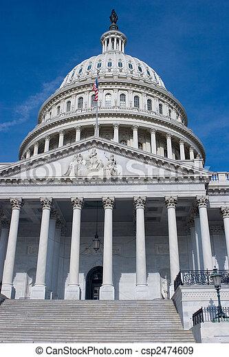 US Capitol Dome - csp2474609