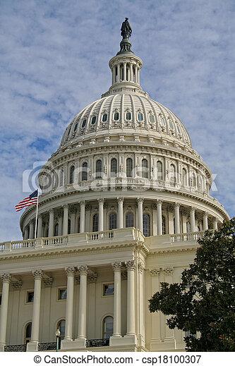 US Capitol Dome - csp18100307