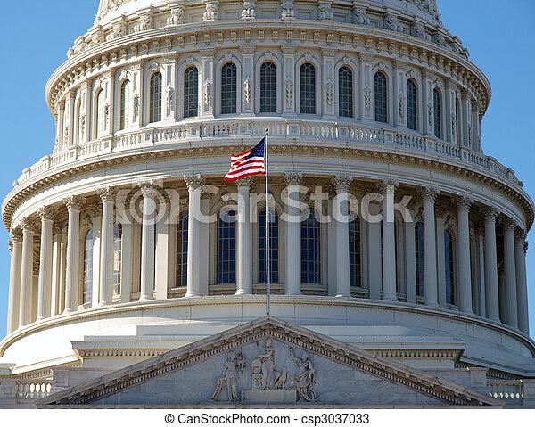 US Capitol Dome - csp3037033