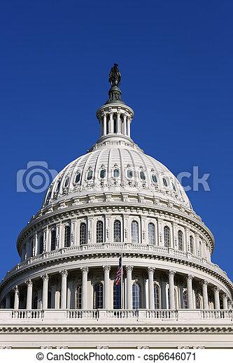 US Capitol - csp6646071