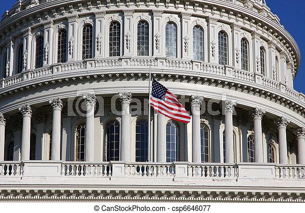 US Capitol - csp6646077