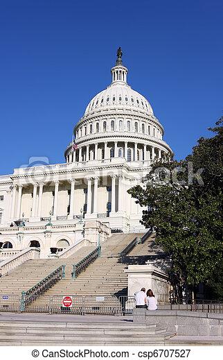 US Capitol - csp6707527