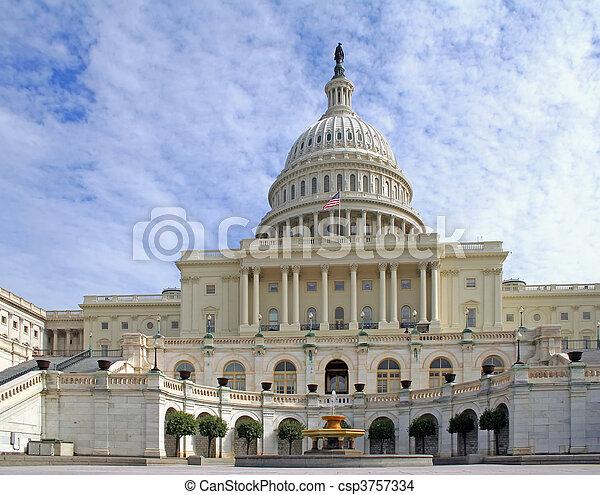 US Capitol - csp3757334