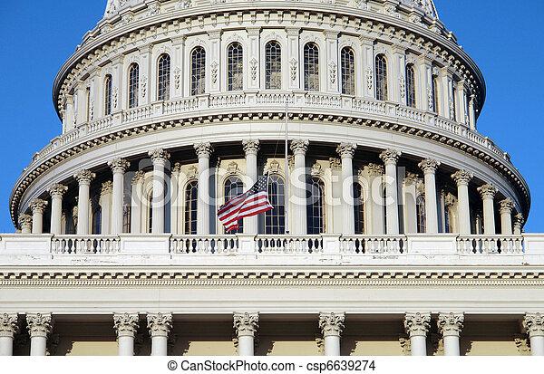 US Capitol - csp6639274