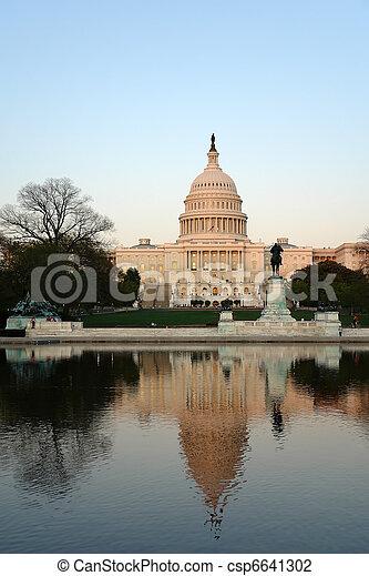 US Capitol - csp6641302