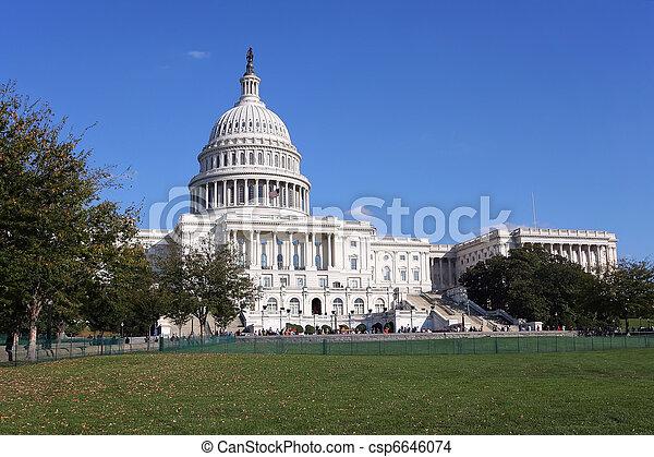 US Capitol - csp6646074
