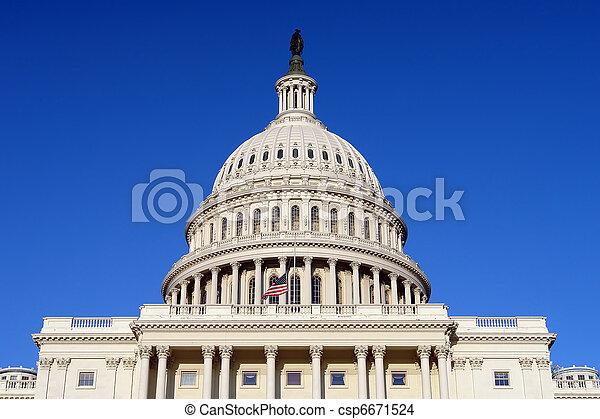 US Capitol - csp6671524