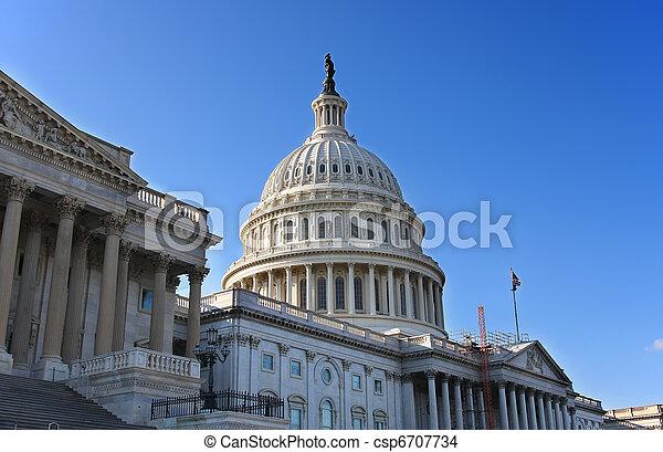 US Capitol - csp6707734