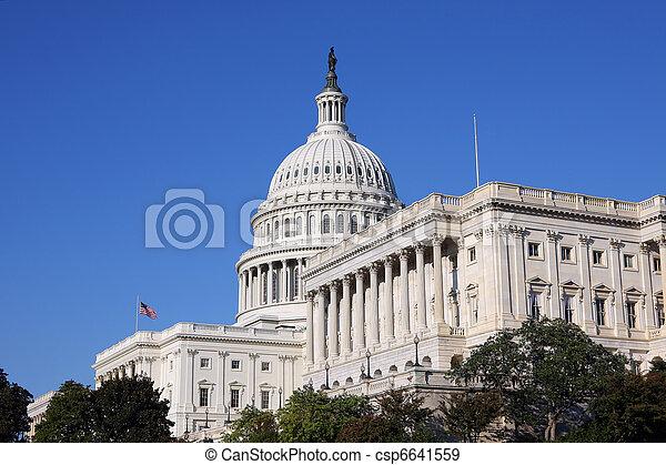 US Capitol - csp6641559