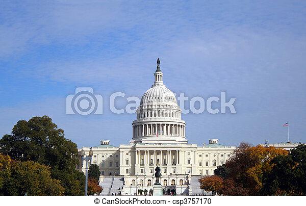 US Capitol - csp3757170