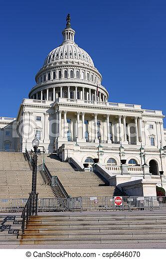US Capitol - csp6646070