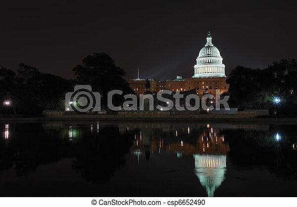 US Capitol - csp6652490