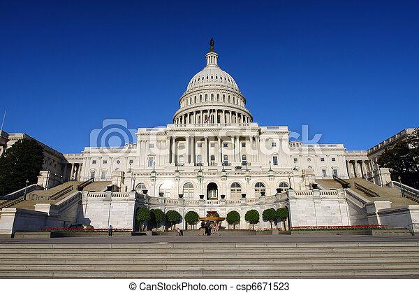 US Capitol - csp6671523