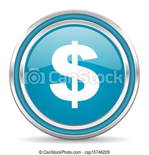 us dollar icon - csp15746229
