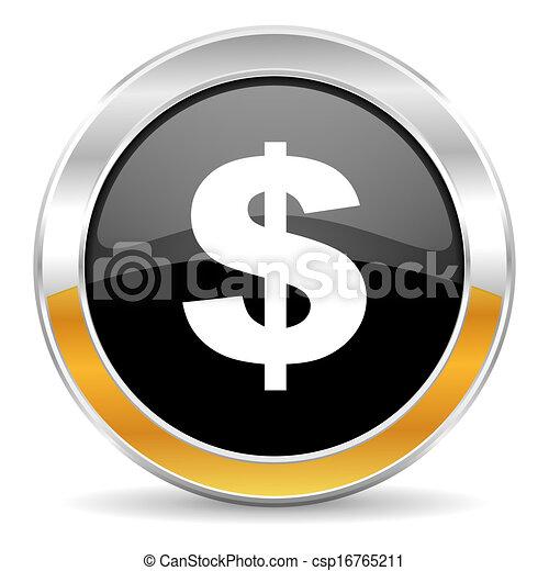 us dollar icon - csp16765211