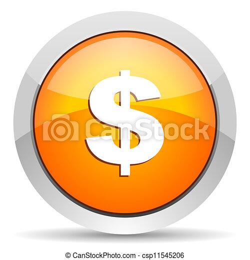 us dollar icon - csp11545206