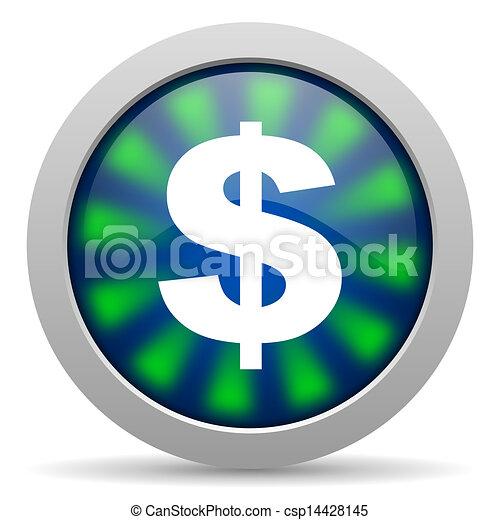 us dollar icon - csp14428145