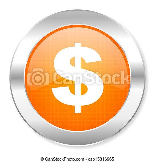 us dollar icon - csp15316965