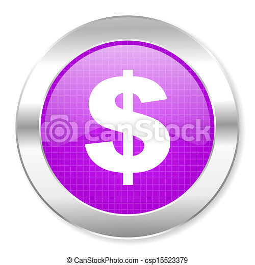 us dollar icon - csp15523379