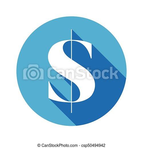 US dollar money sign - csp50494942