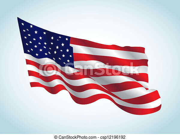 US Flag - csp12196192