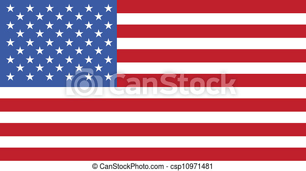 us flag - csp10971481