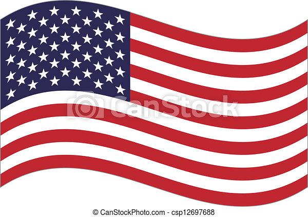 US flag - csp12697688