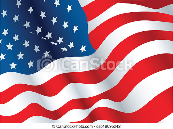 US Flag - csp19095242