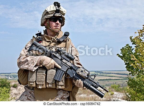US marine - csp16084742