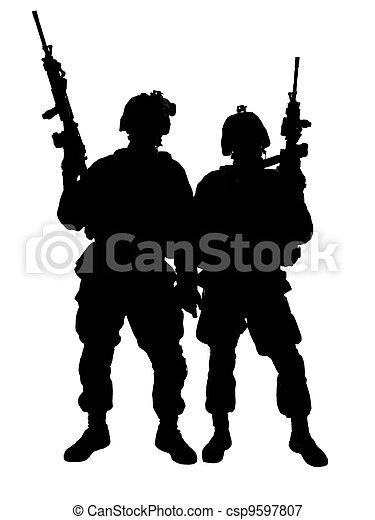US marines - csp9597807