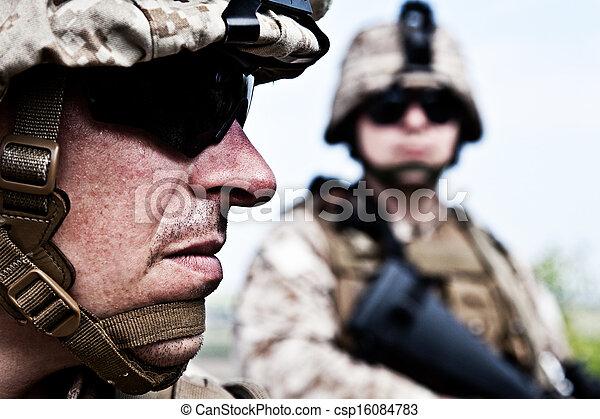 US marines - csp16084783