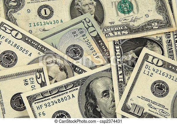 US money - csp2374431