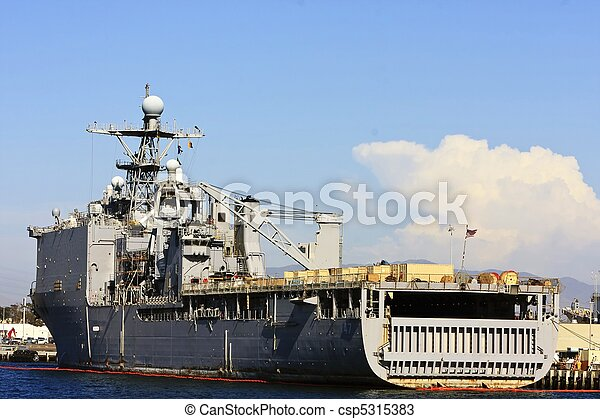US Navy Battle Ship - csp5315383