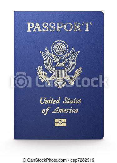 US passport - csp7282319