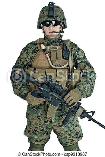 US soldier - csp9313987