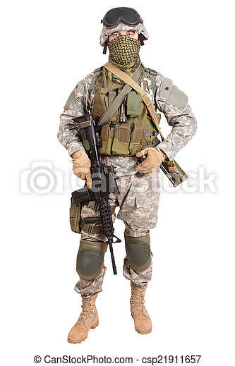 US soldier - csp21911657