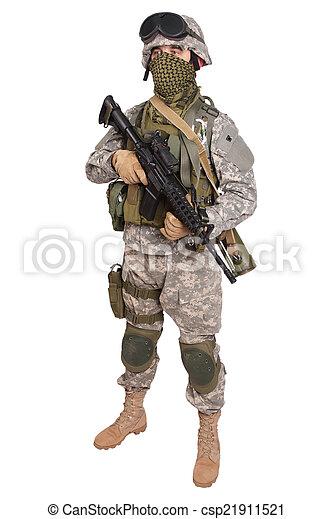 US soldier - csp21911521