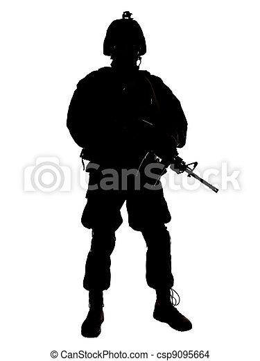 US soldier - csp9095664