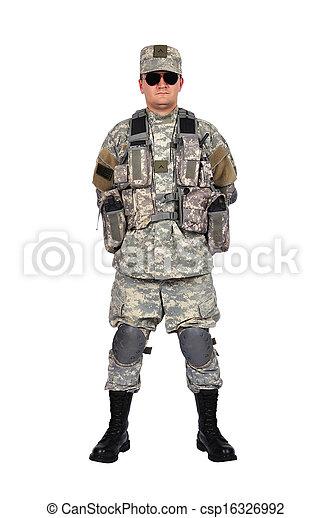 US soldier - csp16326992