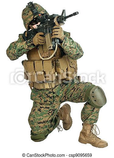 US soldier - csp9095659