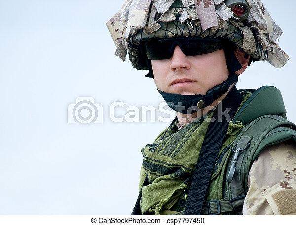 US soldier - csp7797450