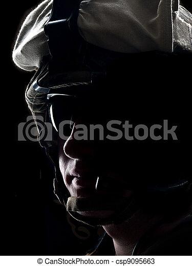 US soldier - csp9095663