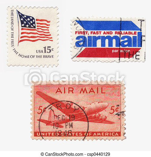 Us Stamps - csp0440129