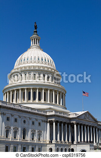 USA Capital Dome - csp6319756