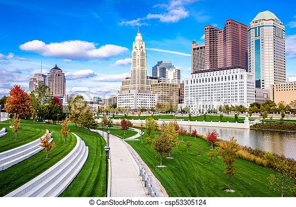 Columbus, Ohio, USA - csp53305124