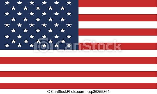 USA flag - csp36255364
