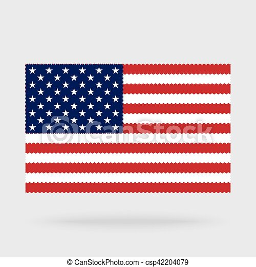 usa flag cross stitch isolated on background needlework vectors rh canstockphoto com american flag clipart vector american flag clipart vector